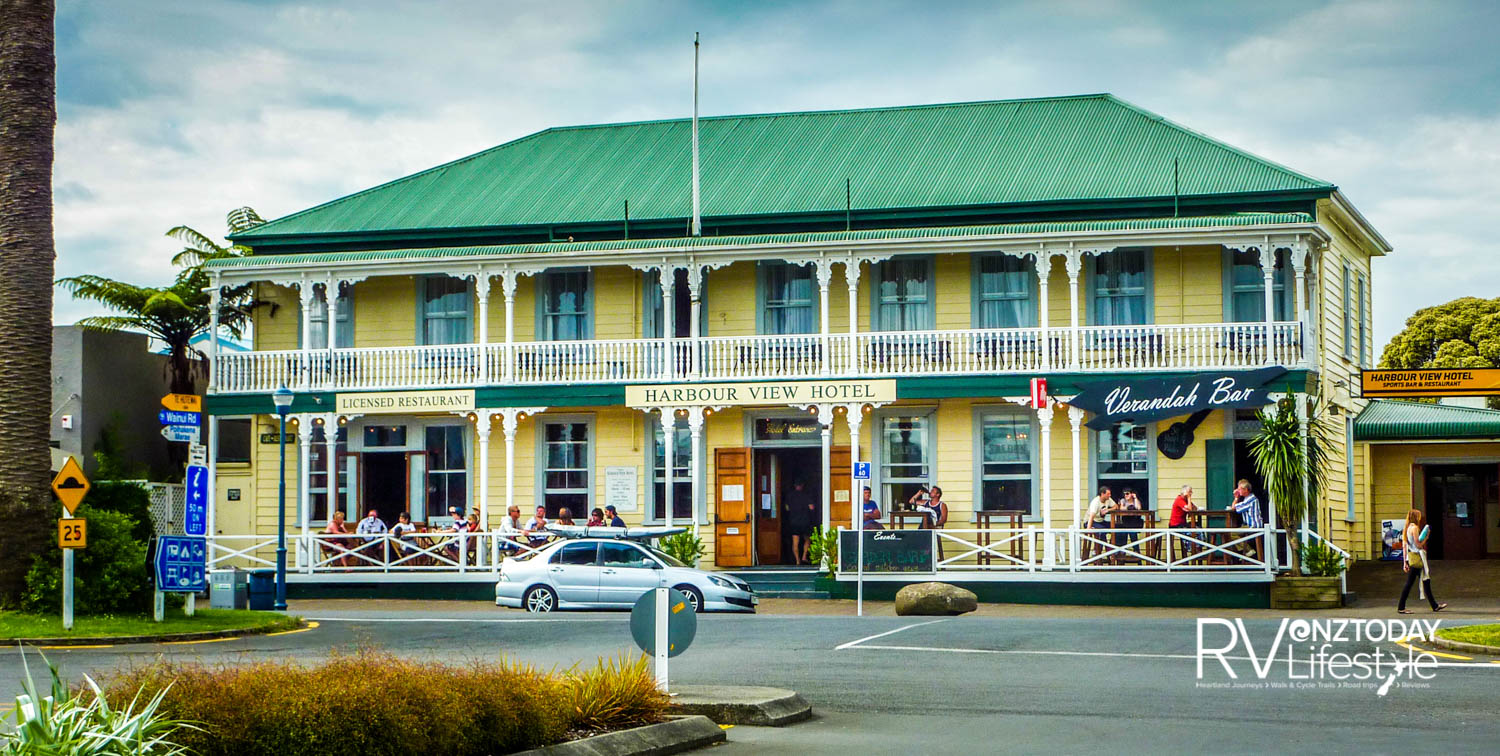 The iconic Harbour View Hotel