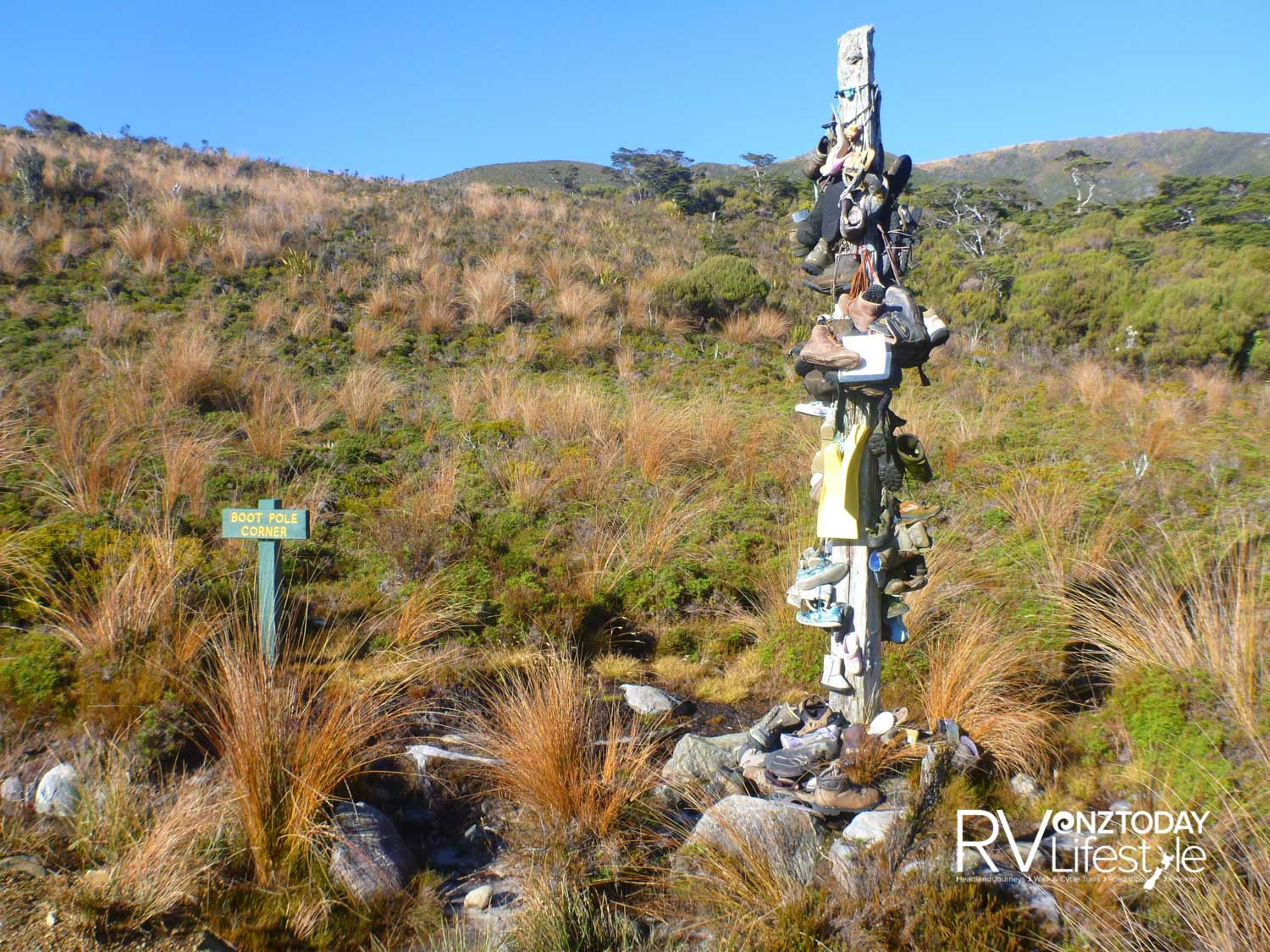 Boot Pole – there is no mistaking it
