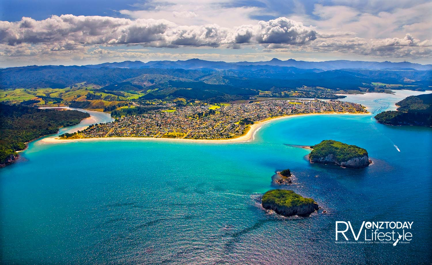 There are white-sand beaches, great surf breaks and islands to explore. Photo credit: thecoromandel.com