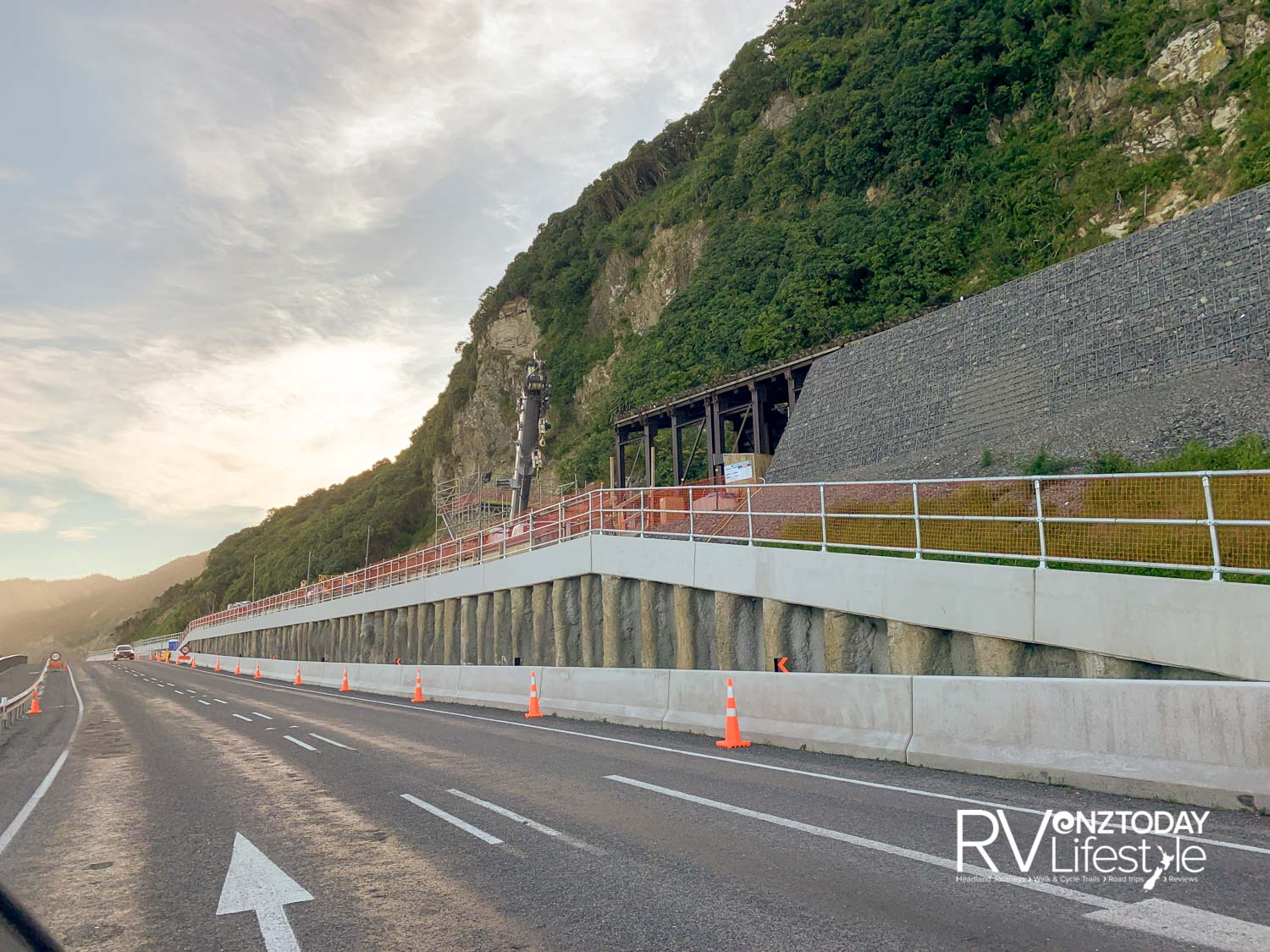 Getting the Kaikōura road reopened was a huge job — but there's still a lot of work to do and stops are frequent. However, the essential character of the drive remains