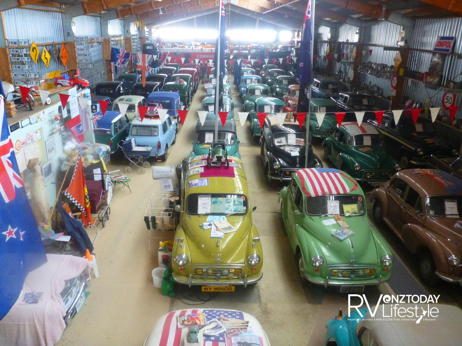 The Morris Minors collection is quite a sight