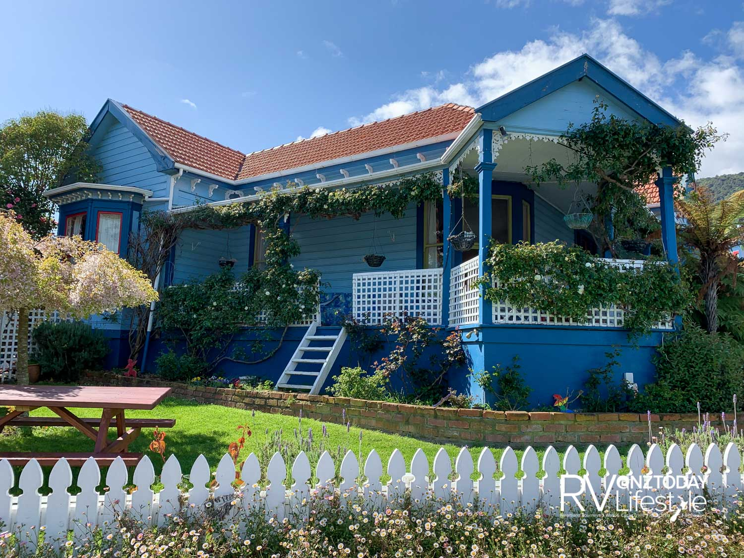 The former Presbyterian manse in Picton where the writer spent a childhood holiday — it's now a guest house