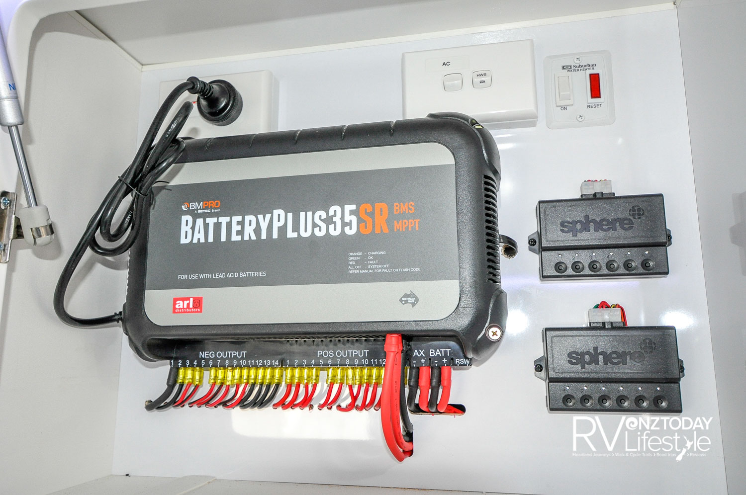 Battery controller system, the BMPRO