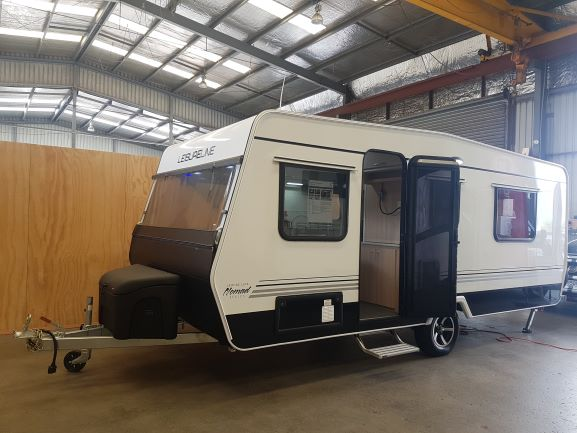 Leisure Built Caravan Nomad 580