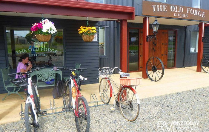 The Old Forge is worth a stop along this new trail section