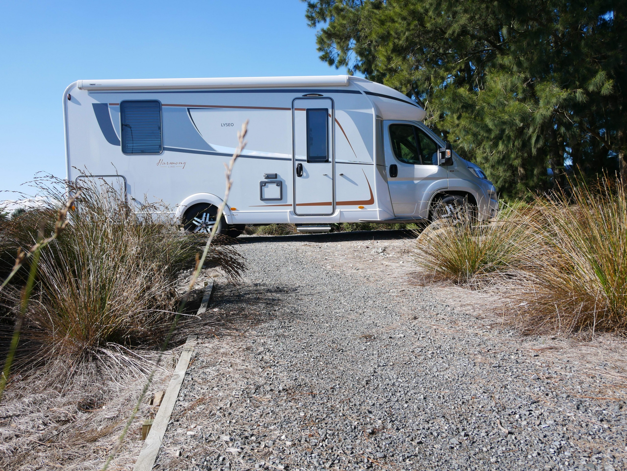 We picked up the Bürstner Harmony Line Lyseo TD 745 at SmartRV in Auckland for a quick road test