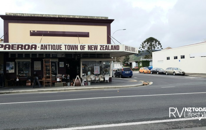 Antiques and prams abound in the main street